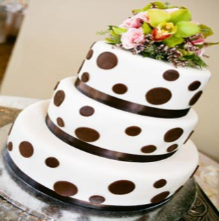 Picture of a decorated cake