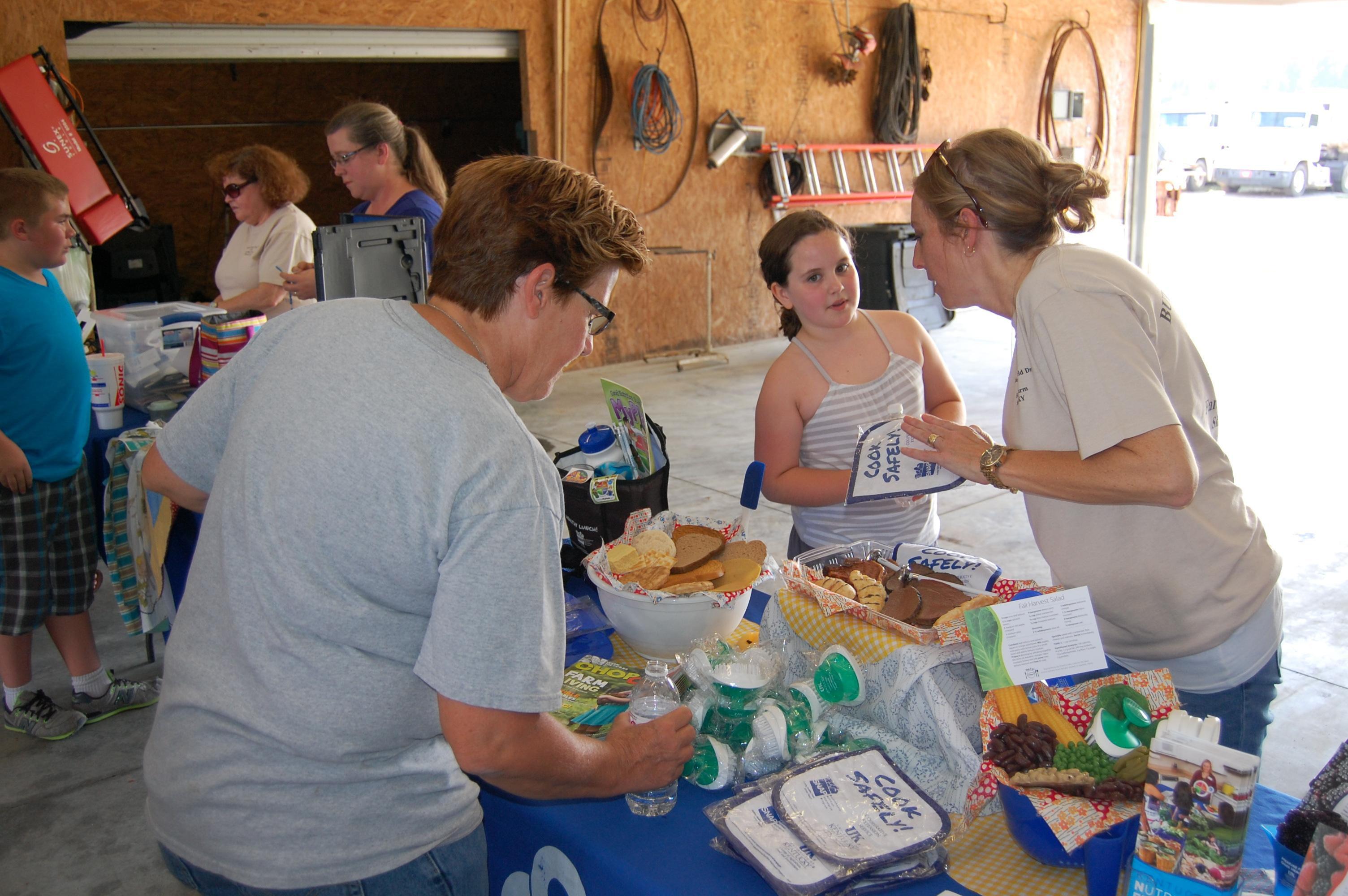 Free items being offered at the Butler County Field Day.